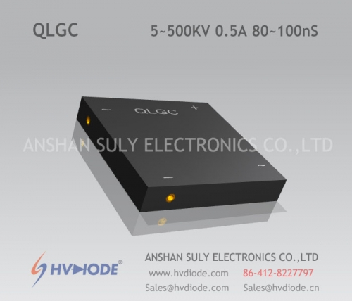 Genuine QLG5 ~ 500KV / 0.5A high frequency 80 ~ 100nS high voltage single phase full bridge HVDIODE manufacturer