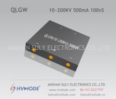HVDIODE manufacturers produce genuine good goods QLGW10 ~ 200KV / 500mA high voltage W type special rectifier bridge 100nS high frequency