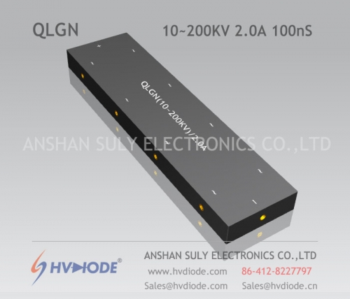 Genuine 100nS high-frequency QLGN (10 ~ 200KV) / 2A special multi-level high-voltage rectifier bridge produced by HVDIODE manufacturers