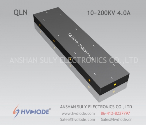 HVDIODE manufacturers produce genuine good goods QLN (10 ~ 200KV) / 4A high voltage multi-stage special rectifier bridge
