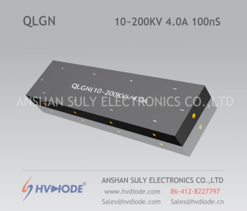 100nS high-frequency multi-stage high-voltage special rectifier bridge QLGN (10 ~ 200KV) / 4A manufacturer HVDIODE direct sales