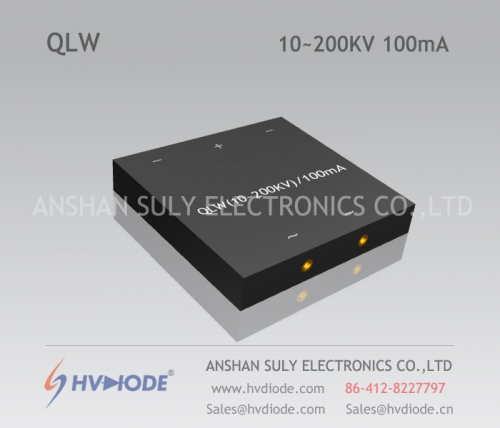 Genuine power frequency QLW10 ~ 200KV / 100mA special W-type high voltage rectifier bridge HVDIODE manufacturers