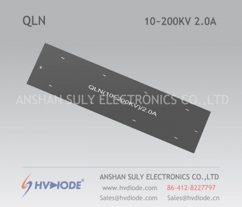 HVDIODE manufacturers produce genuine good goods QLN (10 ~ 200KV) / 2A power frequency multi-level high-voltage special rectifier bridge