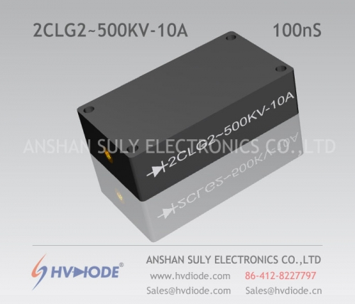 High frequency high voltage silicon stack 2CLG2 ~ 500KV-10A manufacturers HVDIODE direct sales