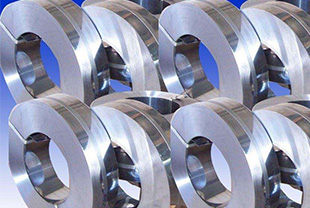 Annealing of steel strips