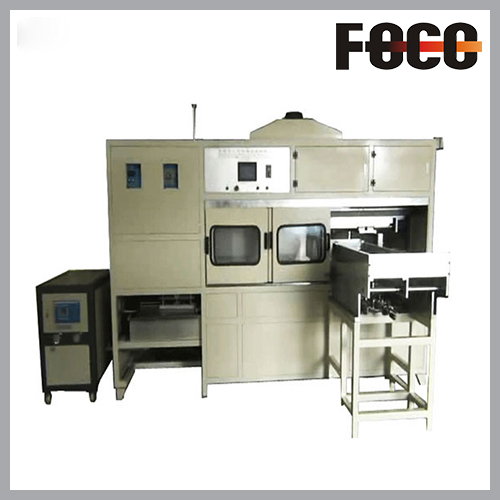 Semi-automatic crankshaft hardening equipment