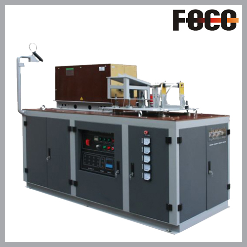 Fully automatic steel bar forging furnace