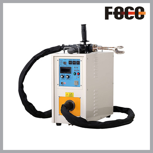 Hand-held UHF induction brazing machine