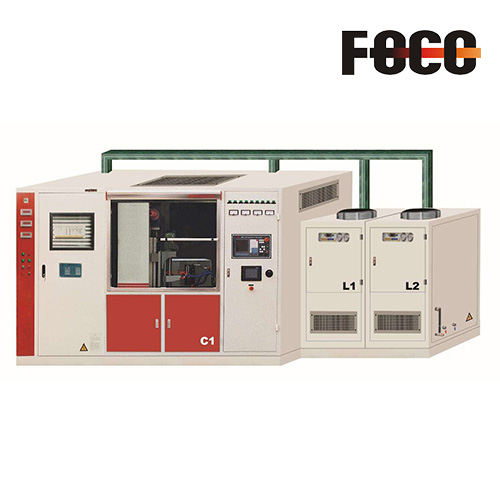 Full automatic crankshaft hardening equipment