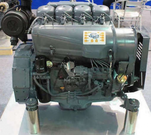 air-cooled engine