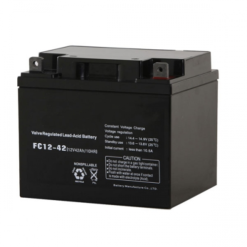SR Series 12V Sealed Lead Acid AGM Battery