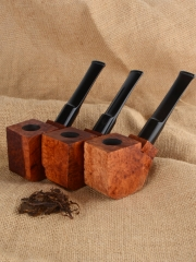 Smoking Tobacco Pipe Briar Wood Block - Pre Drilled Unfinished #911 smoking pipe,Tobacco pipe, handmade pipe, unfiished pipe kits