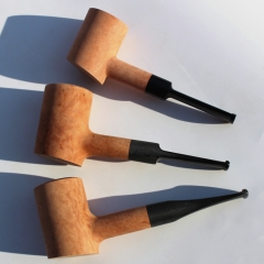 Briar Tobacco Pipes - Assorted 1 Pack Smoking Pipes with Unfinished Bowls wooden pipes hammer briar pipes 111 pipe kits