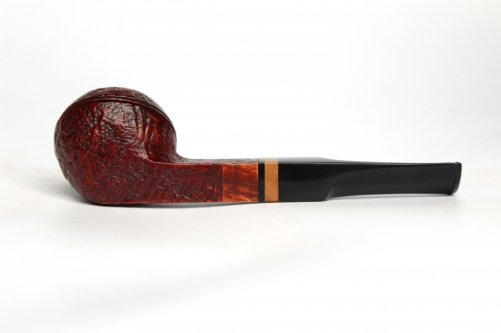 Briar pipes sandblast  finished bent bulldog shape#ck115