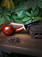 Hand made briar pipe. made by Mr. Jia Qingfeng #S002