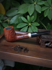 hand made pipe carved brair pipe
