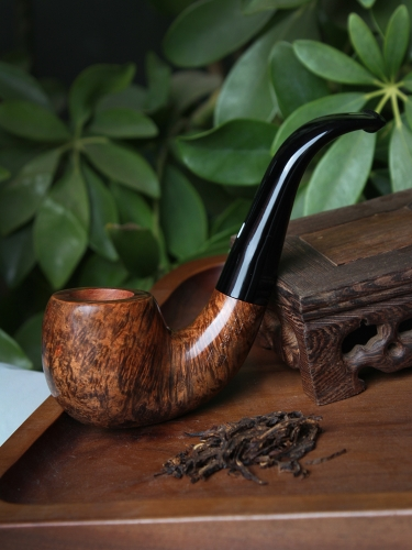 Castello hand made briar pipe 2K mark #S011