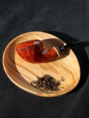 hand made briar pipe smooth finished wooden Smoking Tobacco Pipe kits #S1012