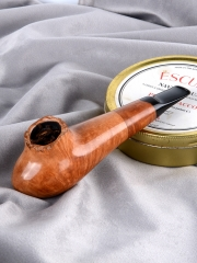 hand made briar pipe smooth finished wooden Smoking Tobacco Pipe kits  #S014