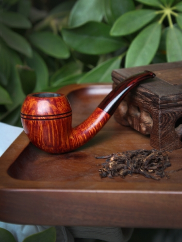 hand made briar pipe smooth finished wooden Smoking Tobacco Pipe Mini size NIce quality great flame #L112
