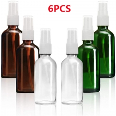 Spray bottle glass spray container alcohol travel vial canned container for cosmetic (15ml / 30ml / 50ml / 100ml)