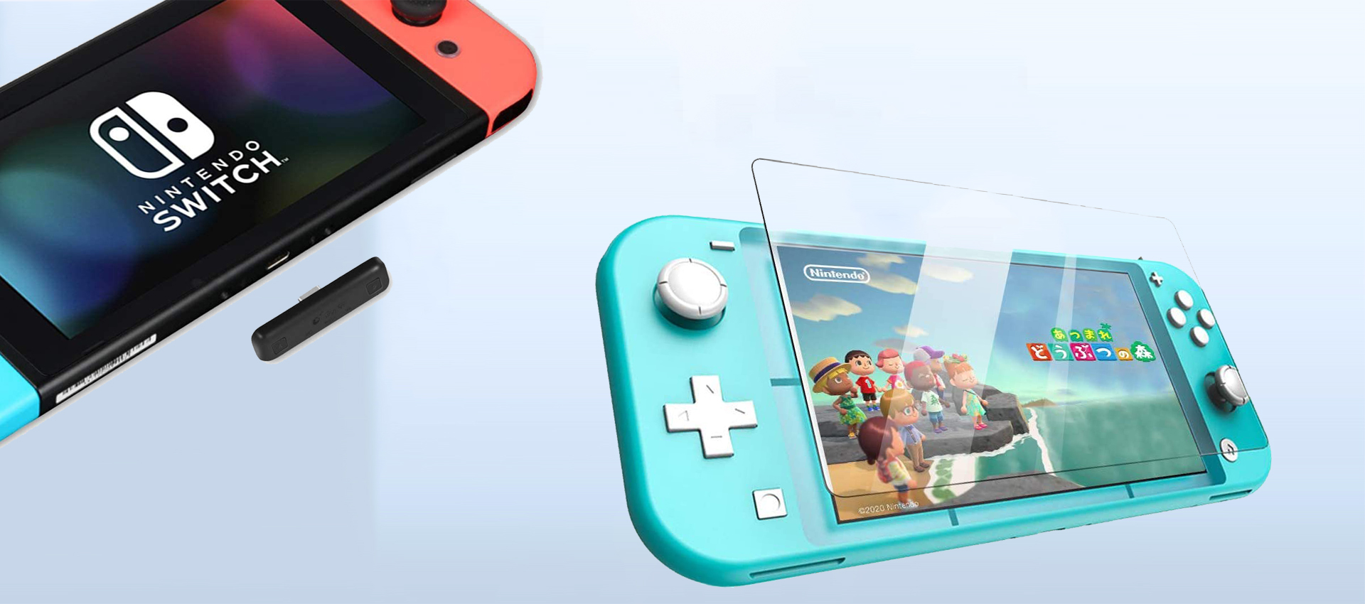 Glass Screen Protector for Nintendo Switch Lite