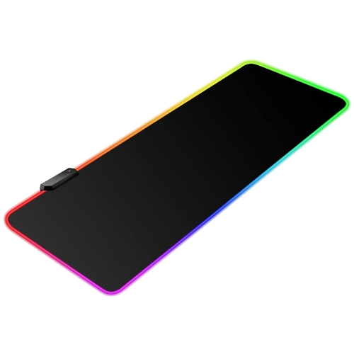"RGB Gaming Mouse Pad , Black Extended LED Mouse Pad (31.5""×11.8"")"