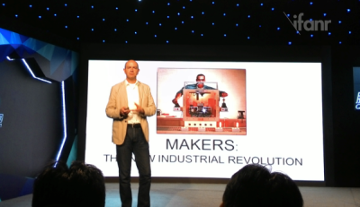 Chris Anderson: '3D Printing Will Be Bigger Than the Web'