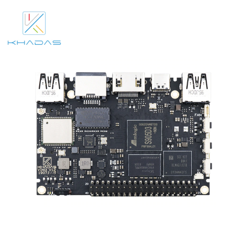 Khadas VIM3L SBC: Amlogic S905D3-N0N Soc With 1.2 TOPS Performance NPU | 2GB + 16GB