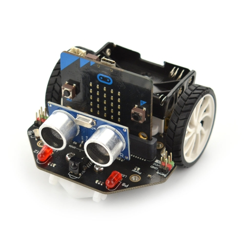 DFRobot micro: Maqueen micro:bit Educational Programming Robot Platform Smart car V4.0 support Line patrol ambient light