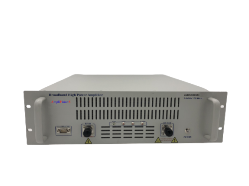 Solid State Broadband High Power Amplifier Subsystem 2~6GHz, 100W