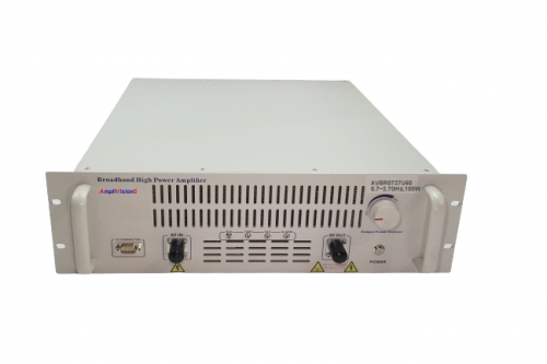 Solid State Broadband High Power Amplifier Subsystem 0.7~2.7GHz, 100W