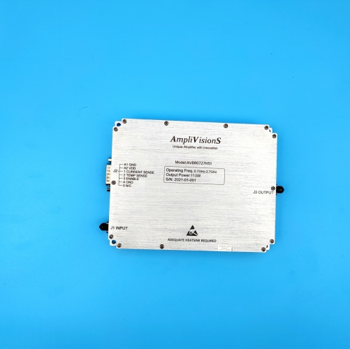 Solid State Broadband High Power Amplifier 0.7~2.7GHz, 120W