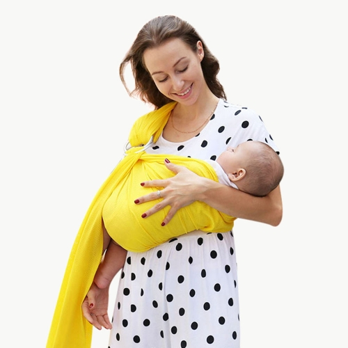 Nelon mesh baby wrap with ring