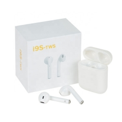 I9S Tws 5.0 Earphone Headphone Stereo TWS Earbuds for all Phone With Charging Box Wireless  Headphone hot sale
