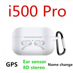 New i500 Pro TWS Change Name Positioning  Earphones In-ear Detection KO i100000 i200000 TWS Wireless Earphone