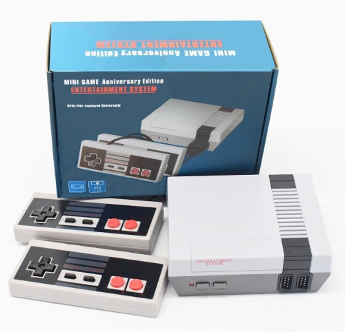 Classic Handheld Family Mini TV Video Game Console player 8bit games Support AV Out Built-In 620 Classic Games For nes