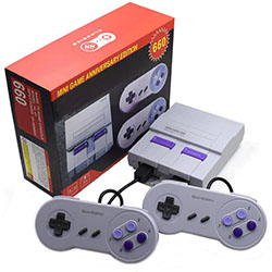 Retro Classic Handheld Family Mini TV Video Game Console player 8bit games Support AV Out Built-In 660Classic Games For SNES