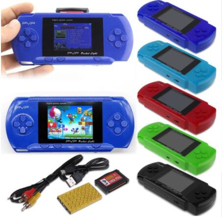 hot LCD screen PVP 2.7 inch handheld video game player mini portable game machine DHL free shipping