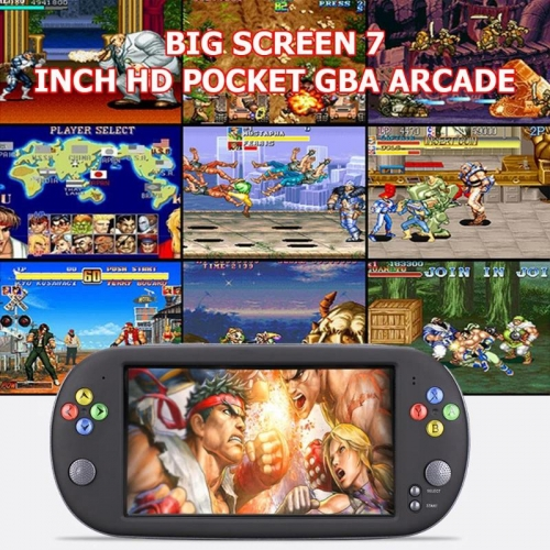 X16 HD Screen Retro Game 7 inch Handheld Game Console Built-in 8GB/16GB Memory Retro Gamepad Console for Kids Children Consola