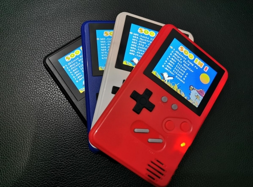 Handheld game console  bulit in 500games in
