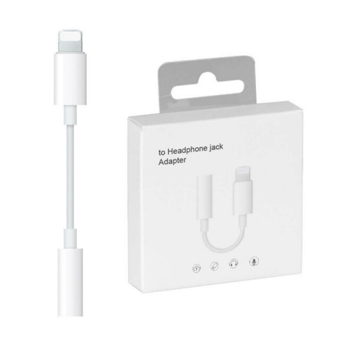 With Box For IOS 13 Headphone Adapter For iPhone 7 8 X AUX Audio Adapter for Lightning To 3.5mm Adapter Headphone Jack Cable