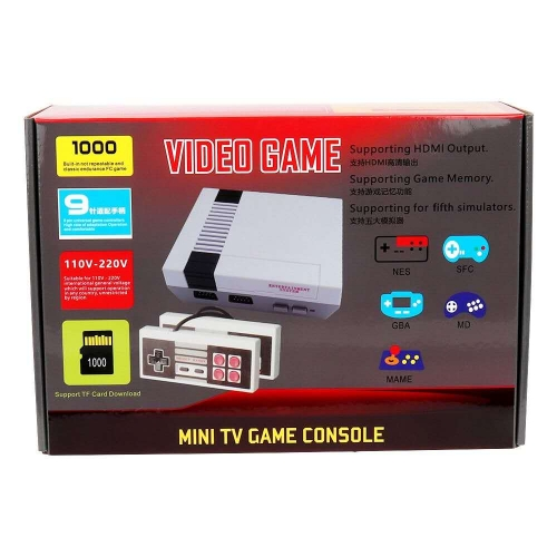1000 HDMI VIDEO NES SFC GBA MD MAME GAME MINI TV GAME CONSOLE
