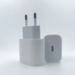 USB-C 18W Power Adapter EU PD Fast charger A1692 Top quality for Mobile phone