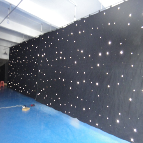 New trending product DMX controller led star curtain easy to fold and easy to carry