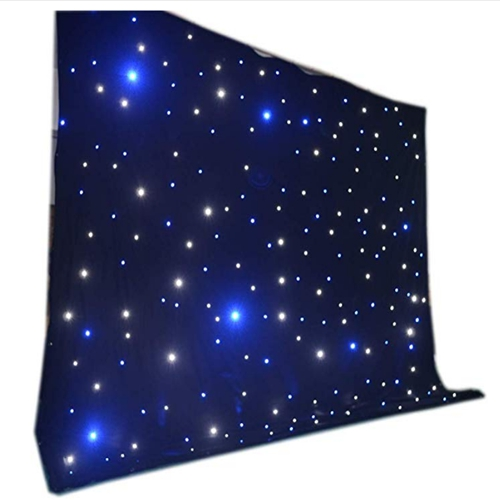 BW LED hot sale 3M*4M LED star backdrop