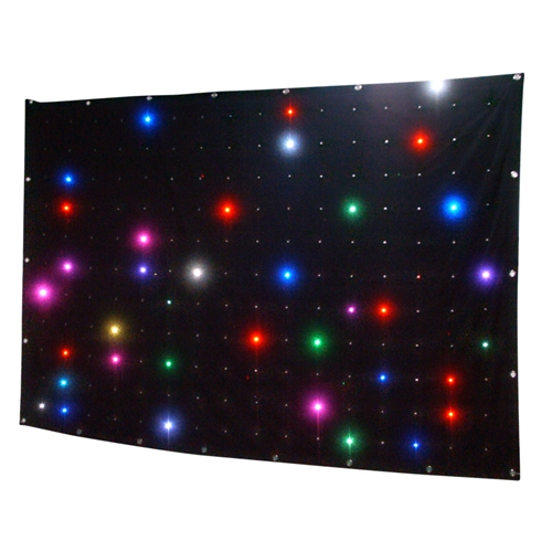 dj equipment P18 2X3M led Vision curtain backdrop