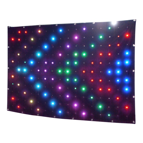 Flykostage factory directly P18 2X3M led Vision curtain backdrop