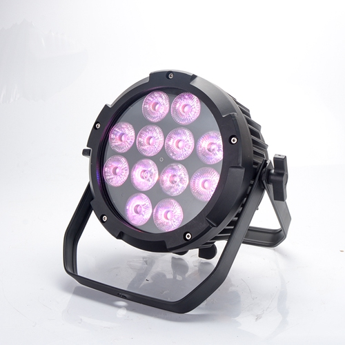 battery par light 6 in 1 RGB 12*18W