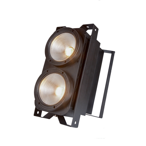 2*100W Cool White and Warm White 2in1 audience led COB